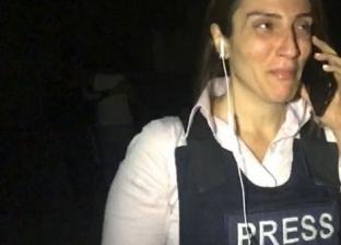 """بكت أثناء تغطية العدوان التركي.. مراسلة العربية: من الصعب رؤية """"إهانة إنسان"""""""