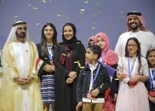 بالصور| حسين الجسمي يختتم حفل تحدي القراءة العربي بحضور محمد بن راشد