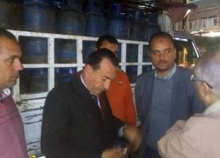 ضبط 120 أسطوانة بوتاجاز قبل توزيعها على مزارع الدواجن بإيتاي البارود