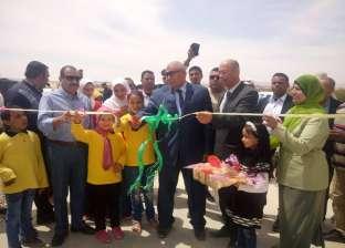 الزملوط يفتتح محطة مياه الشرب في قرى الخير والنماء بالفرافرة