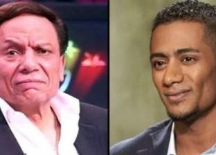 """مصادر: محمد رمضان يزور عادل إمام مرتين.. واتجاه لتعاونه مع """"رامي"""""""