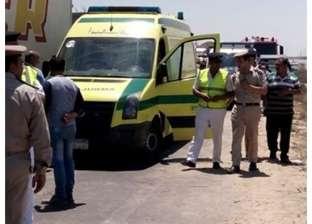 مصرع طفل وإصابة أمه وشقيقه صدمتهم سيارة ميكروباص على طريق المنصورة