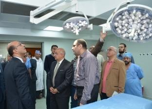 رئيس جامعة أسيوط يفتتح جناح عمليات الأنف والأذن بالمستشفى الجامعي
