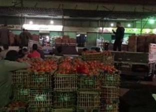 قوافل الخضار والفاكهة من سوق العبور لسيناء.. محافظات مصر ضد الإرهاب