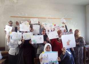 """""""ثقافة طور سيناء""""  تنظم ورشة رسم عن انتصارات أكتوبر"""