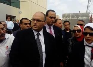 """وزيرة الصحة تتفقد مستشفى بورفؤاد استعدادا لتطبيق """"التأمين الصحي"""""""