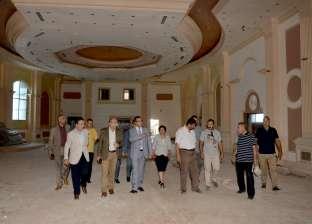 """رئيس جامعة المنصورة يتفقد الإنشاءات الجديدة بفندق """"دلتا بلازا"""""""