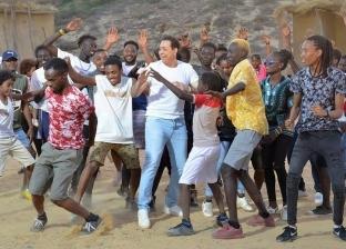 """بالفيديو  شاهد أغنية """"متجمعين"""" الرسمية لبطولة الأمم الأفريقية بـ3لغات"""