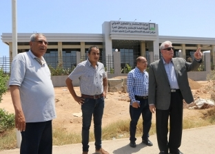 بالصور| فودة يتابع استكمال أعمال رصف بعض المشروعات بمدينة شرم الشيخ