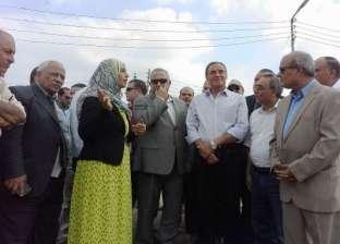 """محافظ الشرقية يتفقد أعمال التشطيبات النهائية لمحطة مياه """"تلراك"""" بأولاد صقر"""