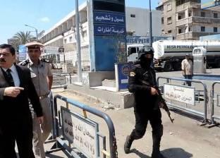 بالصور| مدير أمن الدقهلية يتفقد محطات الوقود ويوجه بمحاسبة المخالفين