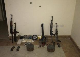 12 قطعة سلاح و5 عبوات ناسفة .. أحراز المتورطين في حادث معهد الأورام