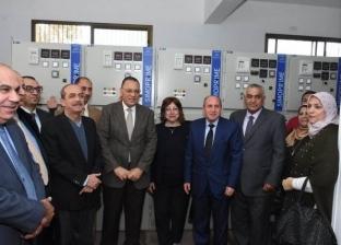 محافظ الشرقية يتفقد العمل بموزع كهرباء الشهداء الجديد في الزقازيق