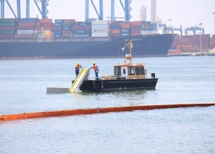 ميناء دمياط يستقبل 7 سفن بضائع ويودع 4 خلال 24 ساعة