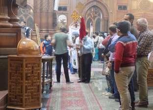 """اختتام احتفالات الأقباط بتدشين كنيسة تحمل اسم الشهيد """"مارجرجس"""" بالفيوم"""