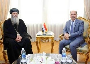 وزير الطيران للأنبا أنطونيوس: الحج لبيت المقدس حق أصيل لكل قبطي مصري