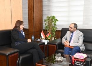 وزيرة التخطيط تبحث مع سفير أفغانستان التعاون في الإصلاح الإداري
