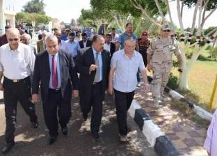 محافظ المنيا: اتخاذ إجراءات لفتح طريق المطار لتيسير المرور