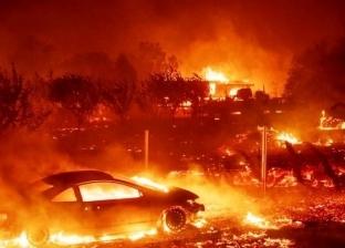 """بالصور  تلوث هواء ومرض معد..  حرائق كاليفورنيا """"موت وخراب ديار"""""""