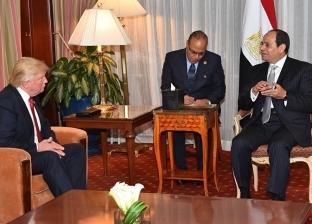 كيف تحدث ترامب عن تجربة مصر في مكافحة الإرهاب قبل قمة اليوم مع السيسي؟