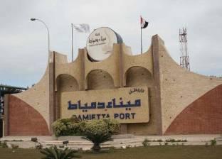 رصيد القمح في مخازن القطاع العام بميناء دمياط يصل لـ168348 طنا