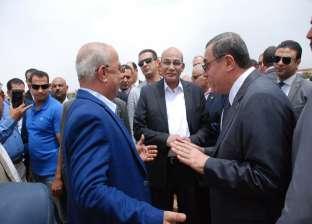 وزير الزراعة يفتتح المرحلة الأولى من تطوير بحيرة قارون