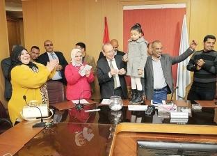 بالصور| إعلان أسماء الفائزين بقرعة الحج للعاملين بديوان عام كفر الشيخ