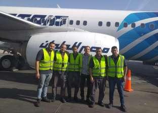 مطار القاهرة الدولي يستقبل طائرة الأحلام الأخيرة من طراز البوينج اليوم