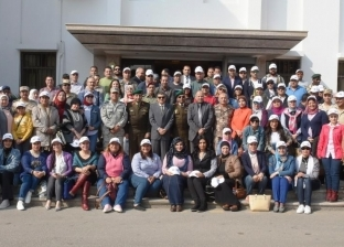 هيئة قناة السويس تستقبل وفدا من كلية الدفاع الوطني بأكاديمية ناصر