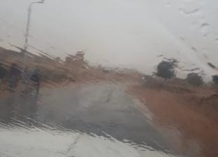 سقوط أمطار خفيفة على سانت كاترين