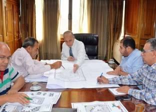 محافظ القليوبية يبحث مستجدات إنشاء المحطة الوسيطة شرق شبرا الخيمة