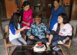 أكبر معمر في العالم يحتفل بعيد ميلاده الـ146