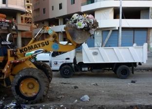 رفع300 طن قمامة ومخلفات بأبوتيج خلال أسبوع