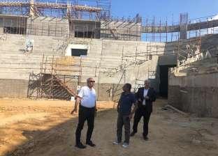 تطوير الصالة المغطاة ببرج العرب لاستقبال كأس العالم لكرة اليد