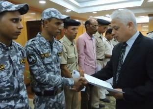 مدير أمن البحيرة يكرم 26 ضابطا وفردا ومجندا تقديرا لمجهوداتهم