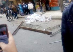 بالصور| مصرع شابين إثر سقوط قطعتين حديد من سيارة أعلى كوبري صفط اللبن