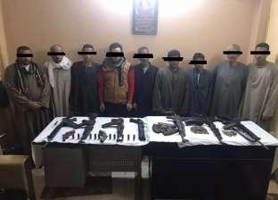 القبض على 116 متهما بممارسة أعمال بلطجة وفرض السيطرة