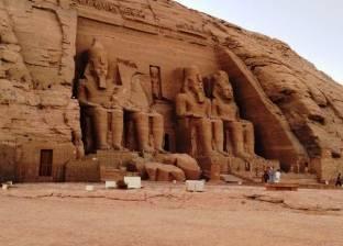 عودة التيار الكهربائي لمعبدي أبو سمبل