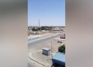 الحر الشديد يُخلي الشوارع من المارة في جنوب سيناء