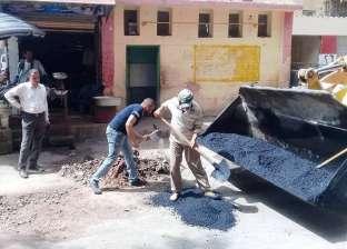 محافظ سوهاج: استمرار أعمال النظافة والتجميل ورصف الشوارع بحي غرب
