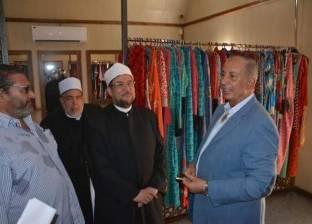 وزير الأوقاف يتفقد أماكن تبديل ملابس السائحين بمسجد الميناء بالغردقة
