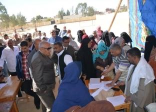 محافظ الوادي الجديد: الاستفتاء يتم بدون معوقات بإشراف قضائي كامل
