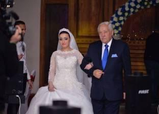 بالصور| عبد الرحمن نور الدين يحتفل بزفاف ابنته