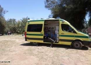 """""""الصحة"""": إصابة 21 مواطنا إثرانقلابأتوبيس في العين السخنة"""