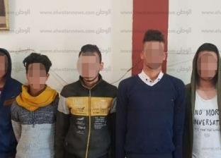 """ضبط 90 قضية """"آداب وتحرش وتسول"""" في حملات أمنية بشوارع المحلة"""