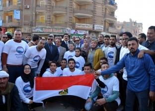 """""""مستقبل وطن"""" بالقليوبية يعلن انتهائه من تنفيذ حملة رفع المخلفات"""