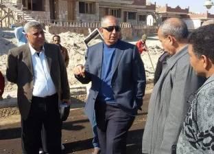 محافظ البحر الأحمر يتفقد أعمال الإنشاءات في محطة الصرف الصحي الجديدة بالغردقة