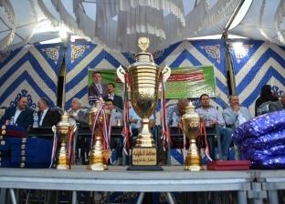صور.. وزير الشباب يشهد المباراة النهائية لدورة الصداقة بالدقهلية