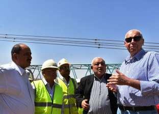 محافظ أسوان يتفقد مصنع كيما 2 للأسمدة