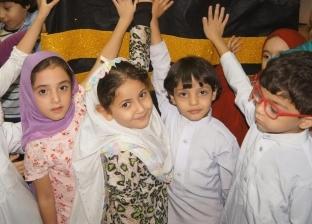 احتفالا بالعيد.. أطفال مكتبة دمنهور يمثلون أداء مناسك الحج
